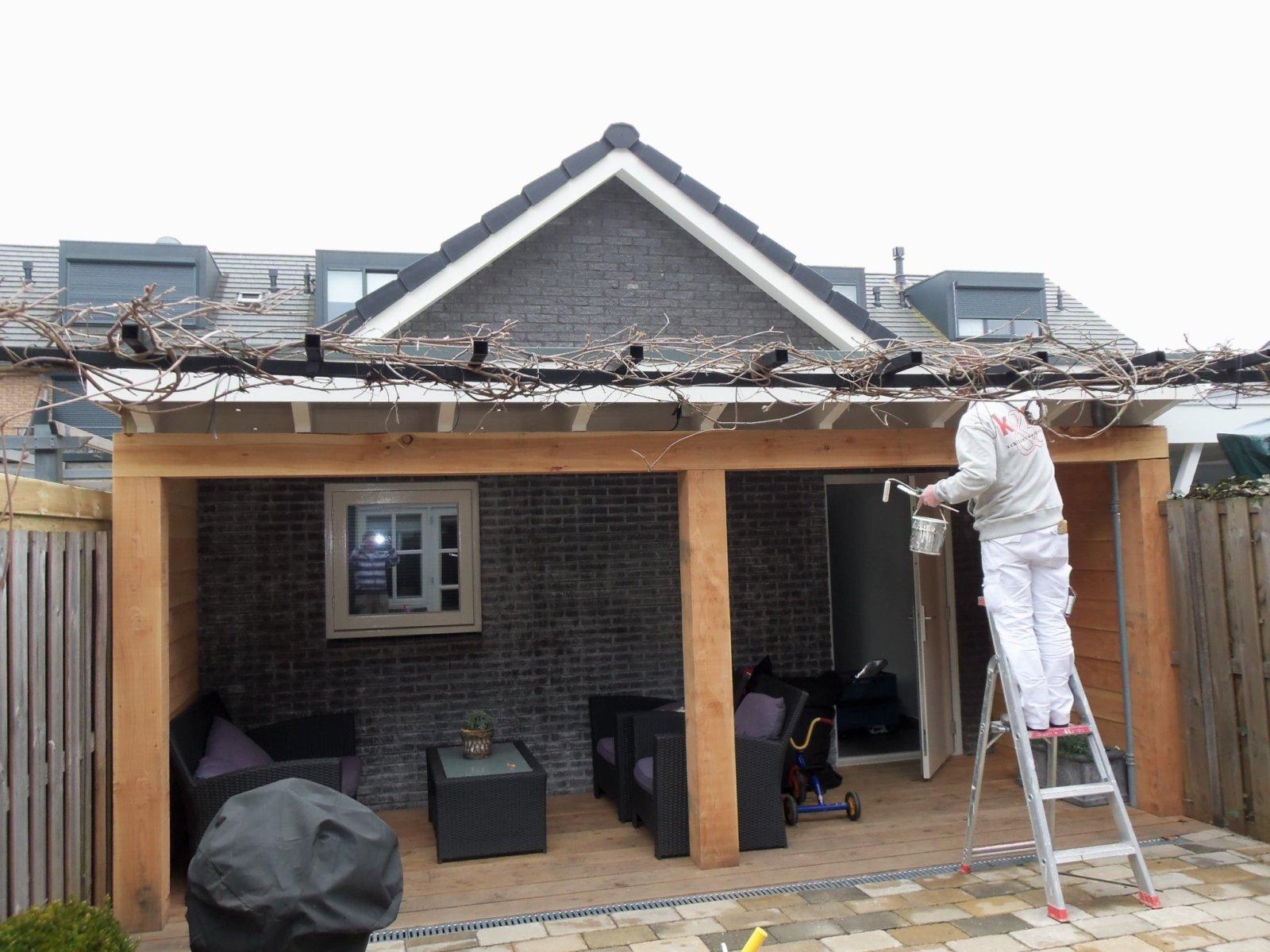 schuur met veranda muijs bouw