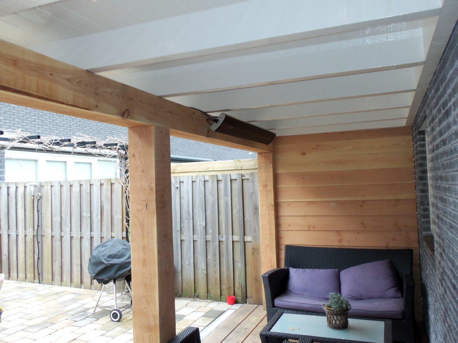 Veranda Met Schuur : Schuur met veranda muijs bouw
